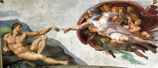 God gives Eve to Adam - it