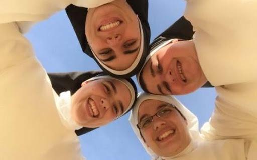 smiling nuns