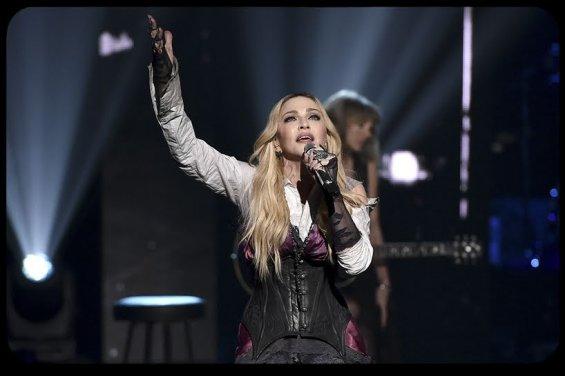 Madonna singing