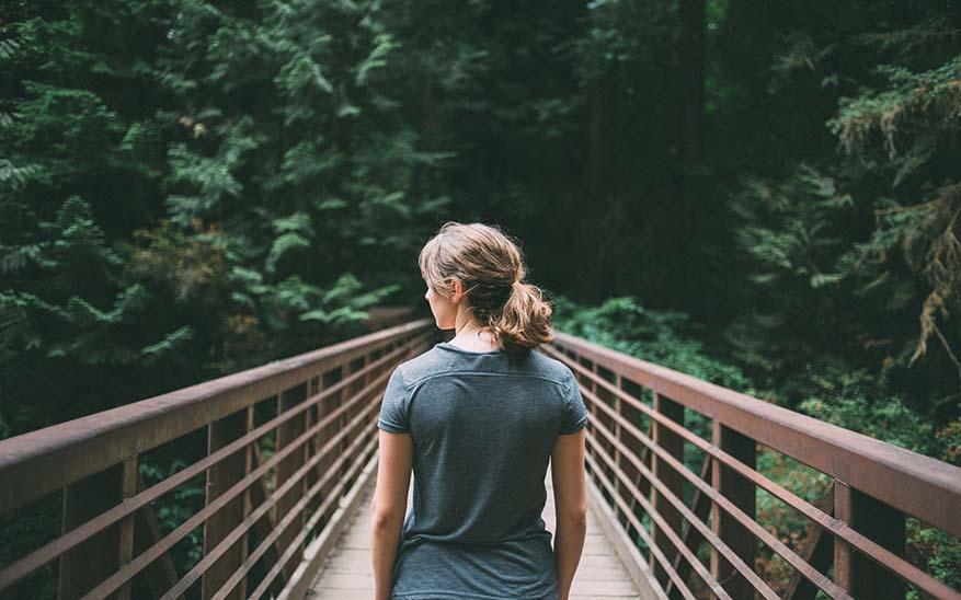 camminare da soli