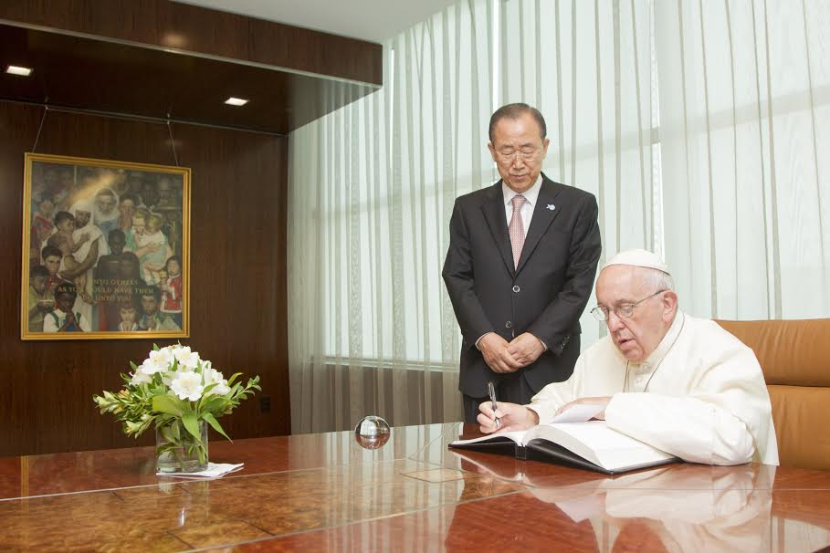 Visit of His Holiness Pope Francis to the United Nations
