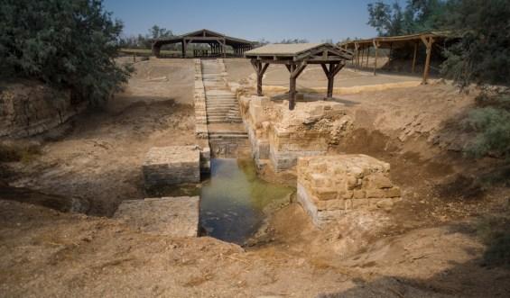 Fonte battesimale - Fiume Giordano