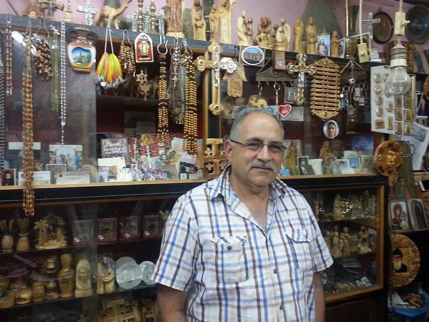 Alfred  Raad negozio Gerusalemme