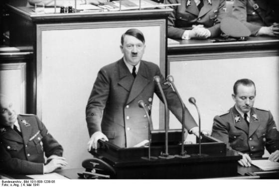 Berlin, Rede Adolf Hitler