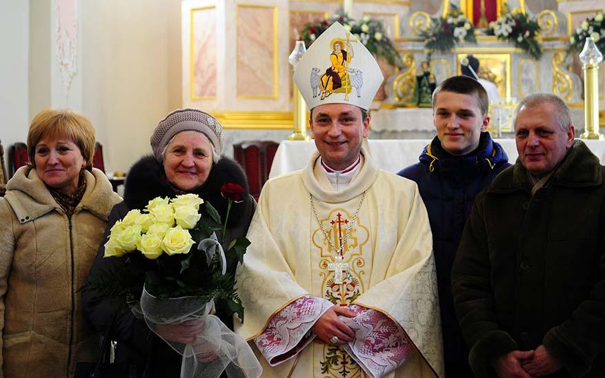 bishop smiling