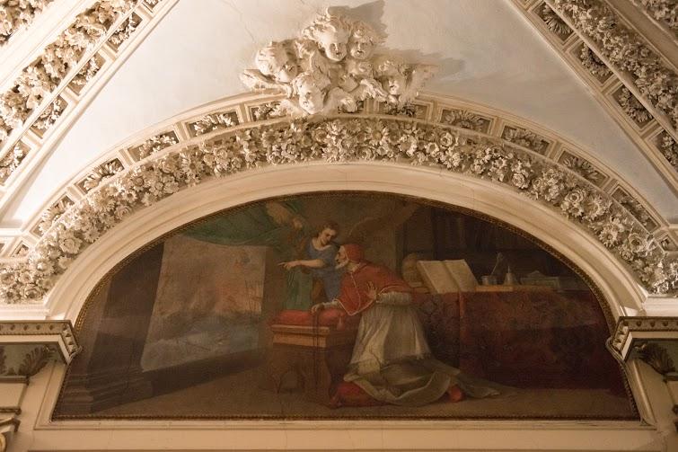 San Pio V e l'angelo