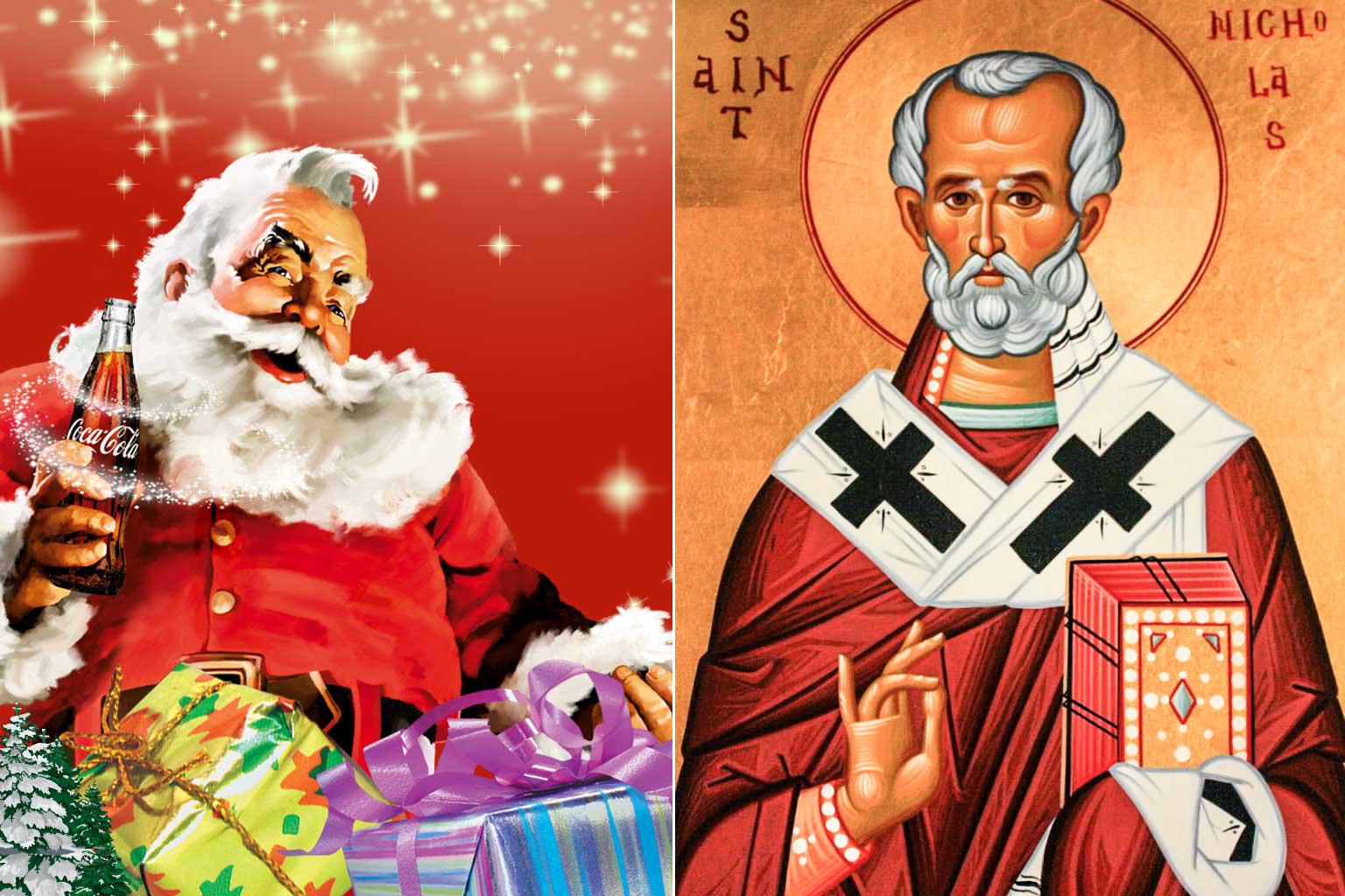 Prima San Nicola, poi una divinità pagana…infine Babbo Natale