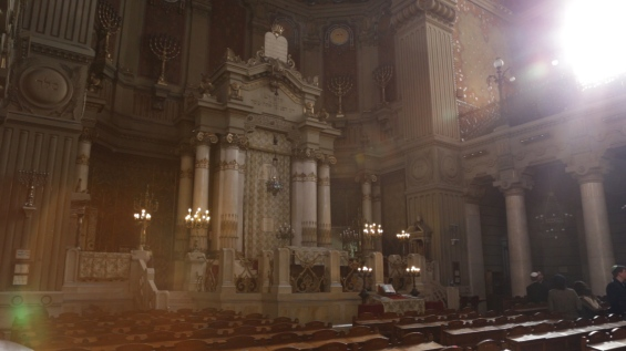 Sinagoga Roma - interno
