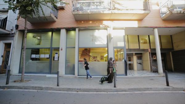 L'attuale sede della scuola di danza Santa Cecilia, presso L'Hospitalet de Llobregat.