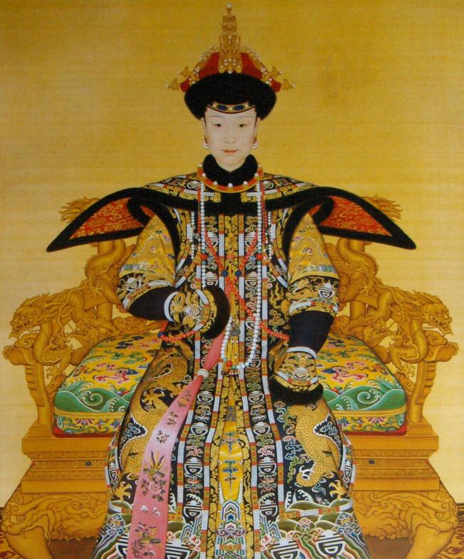 The Empress Xiaoxianchun by Lang Shining (Giuseppe Castiglione, 1688-1766)