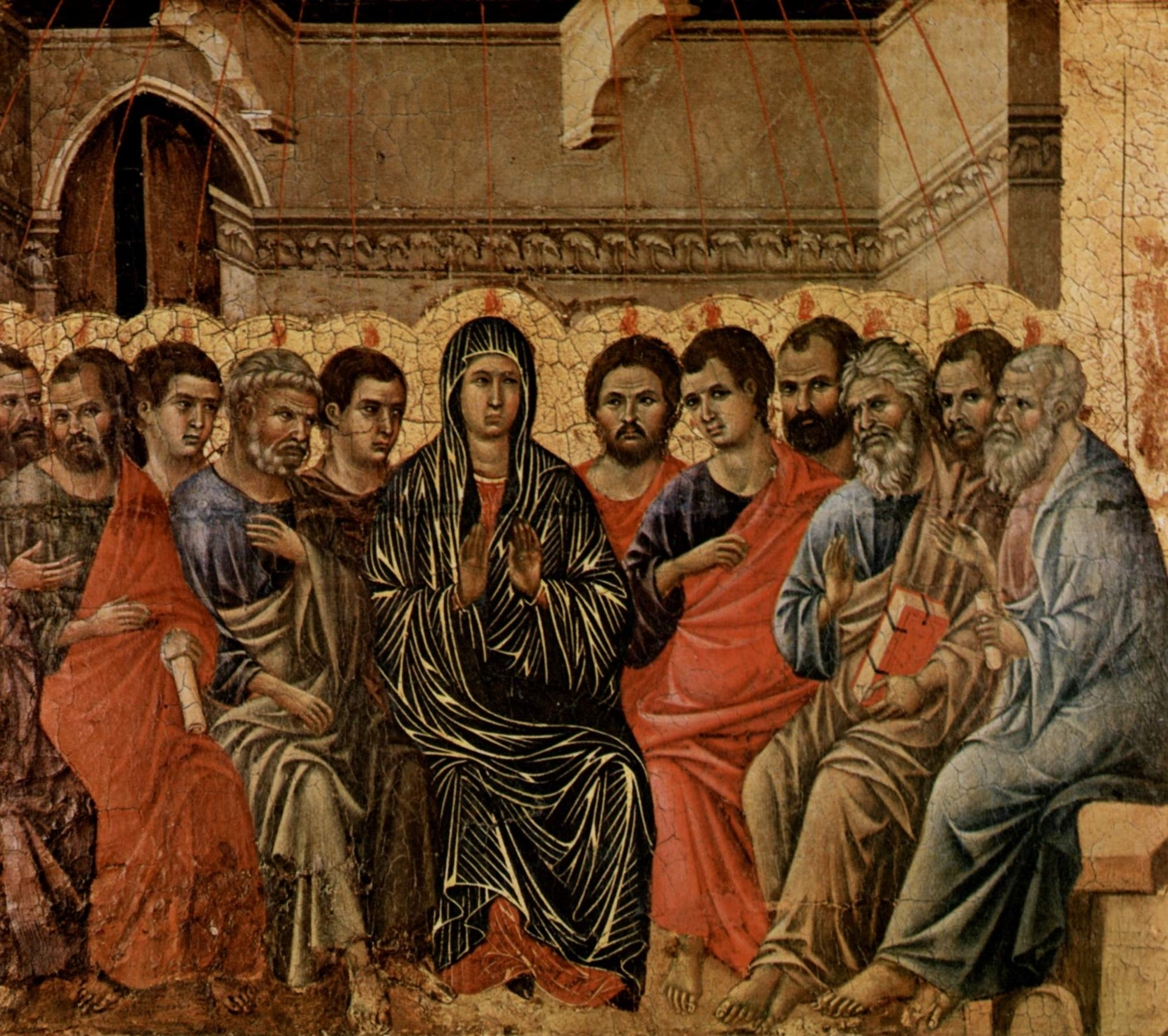 Pentecoste - Duccio di Buoninsegna