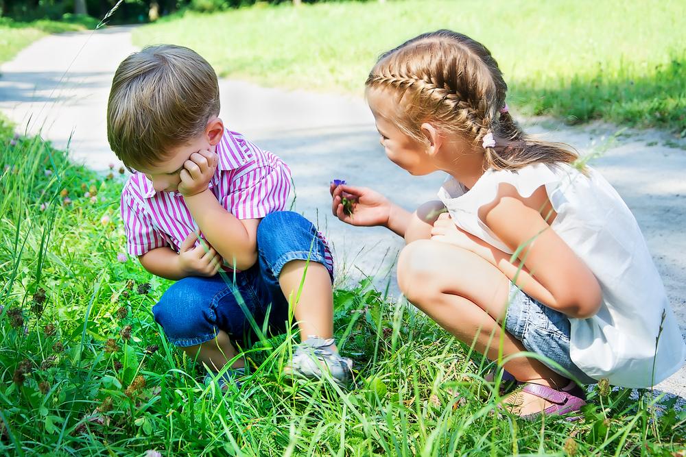 boy girl forgiveness children