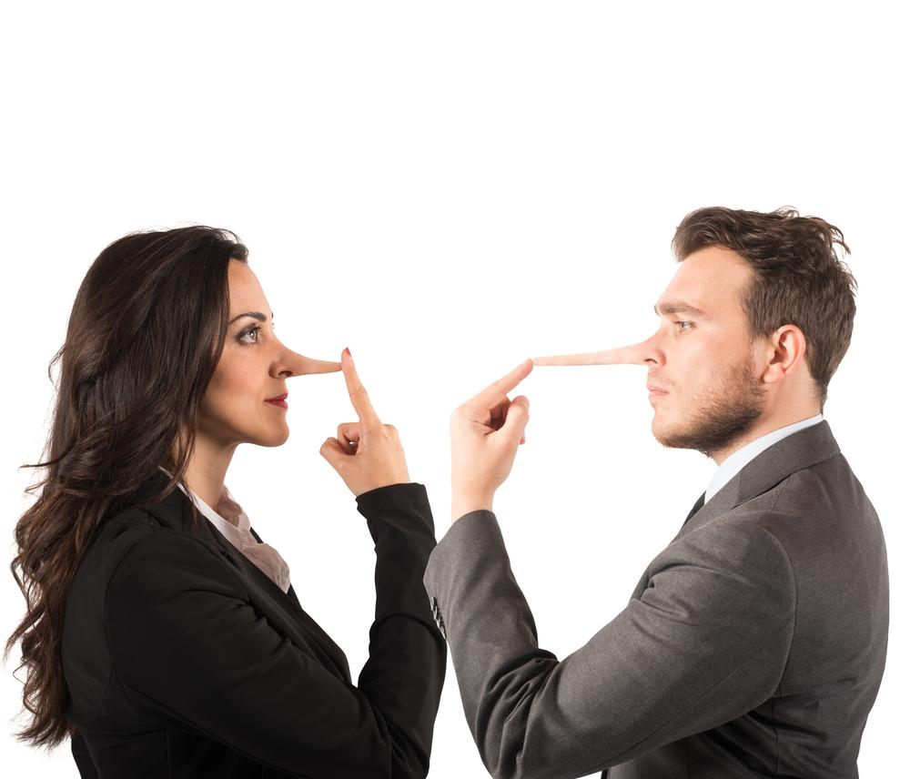 bugia - coppia - mentire