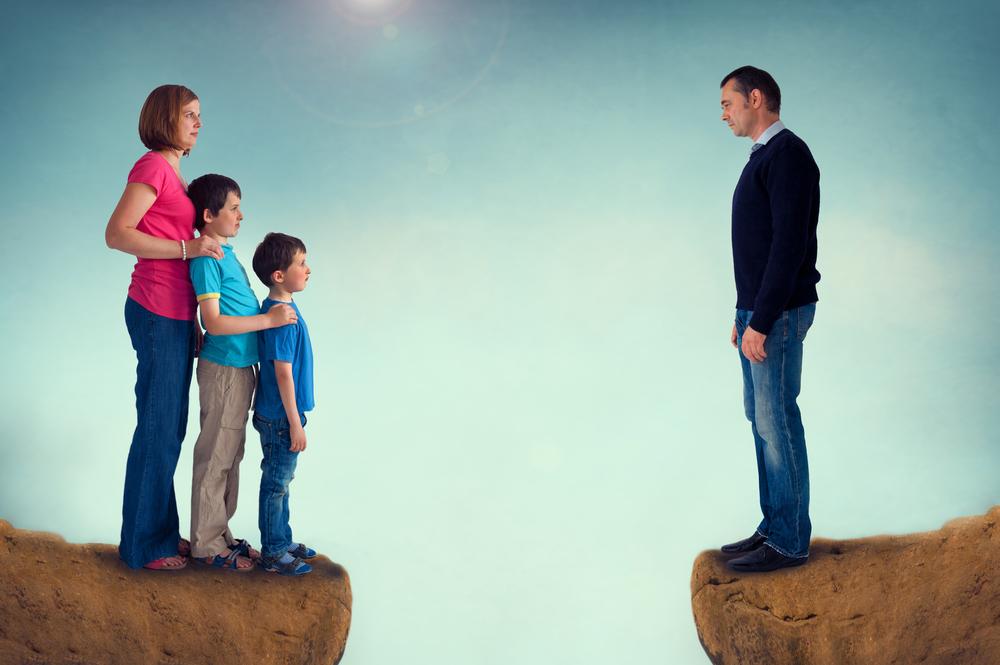 divorzio famiglia