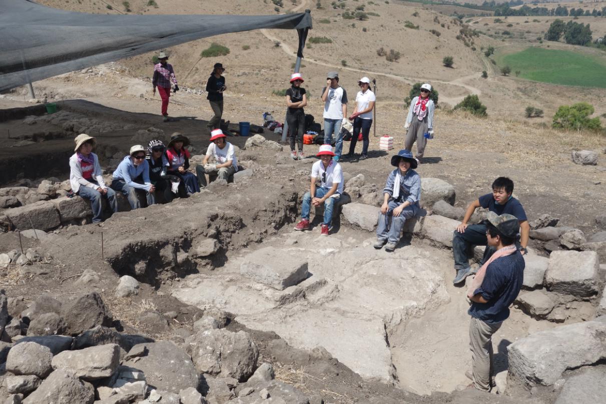 Le rovine della sinagoga – Su gentile concessione della delegazione di archeologi giapponesi
