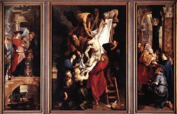 Pieter Paul Rubens (1577-1640), La discesa dalla Croce, olio su tela, 420 x 320 cm, Anversa, cattedrale di Notre-Dame © DR