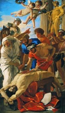 Nicolas Poussin (1594-1665), Il martirio di Sant'Erasmo, olio su tela. 320 x 186 cm, Roma, Pinacoteca Vaticana © Pinacoteca Vaticana