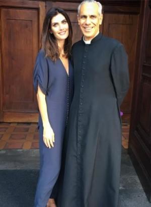 Isabella Fiorentino accanto a padre Paulo Ramalho (foto: Instagram/Isabella Fiorentino)
