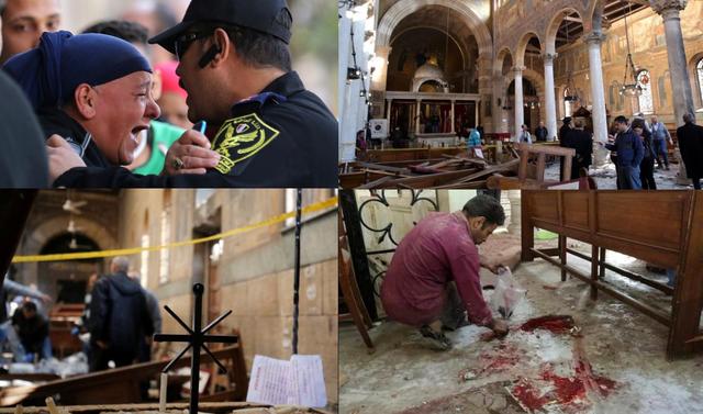 attentato egitto - il cairo - cattedrale