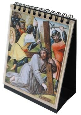 Rosary Flip Book della Serie di Arte Sacra