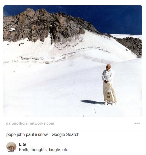 papa-giovanni-paolo-ii-neve