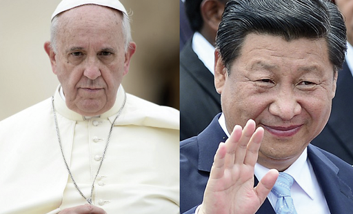 Pope Francis, Xi Jinping, china, holy see,
