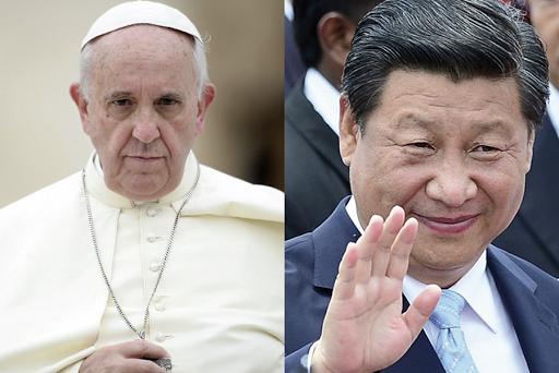 Pope Francis, Xi Jinping, china, holy see,