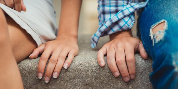 HANDS, MAN, WOMAN