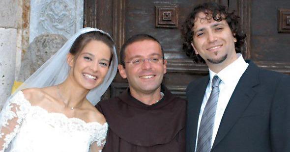 (FOTOGALLERY) La gioia e l'amore di Chiara ed Enrico Petrillo