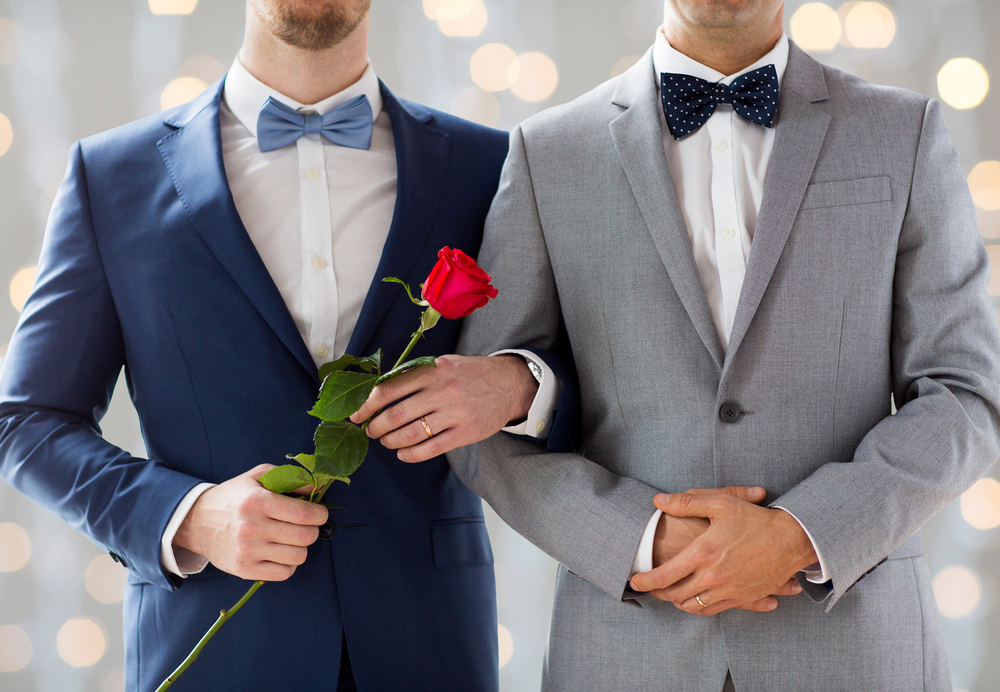 COPPIA MATRIMONIO GAY