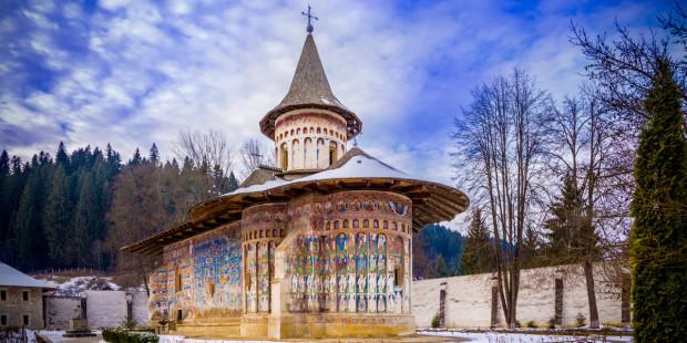 ROMANIA CHIESA VORONET