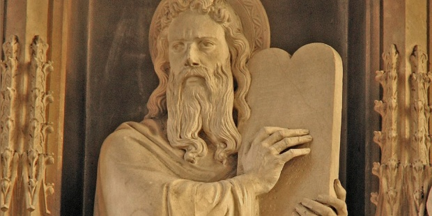 MOSES,STATUE,TEN COMMANDMENTS