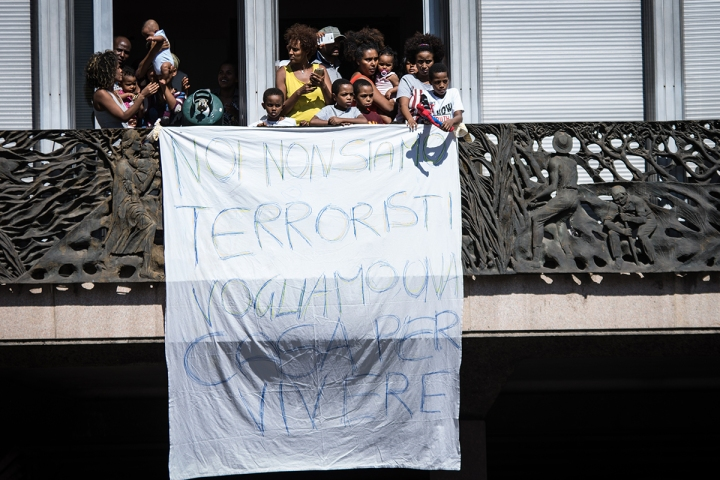 Refugees Rome