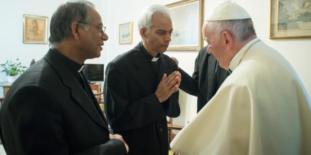 POPE FRANCIS;FATHER THOMAS UZHUNNALIL