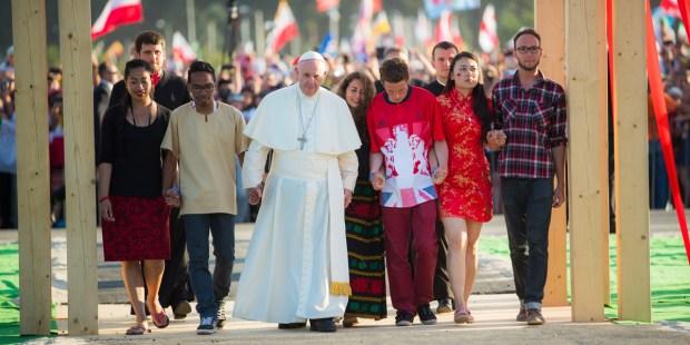 POPE FRANCIS Campus Misericordiae