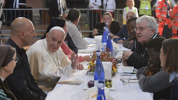 POPE FRANCIS REFUGEES