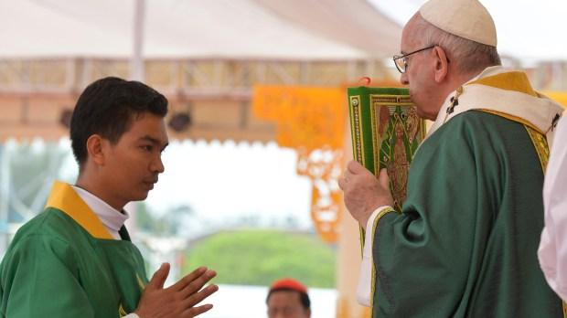 POPE MYANMAR