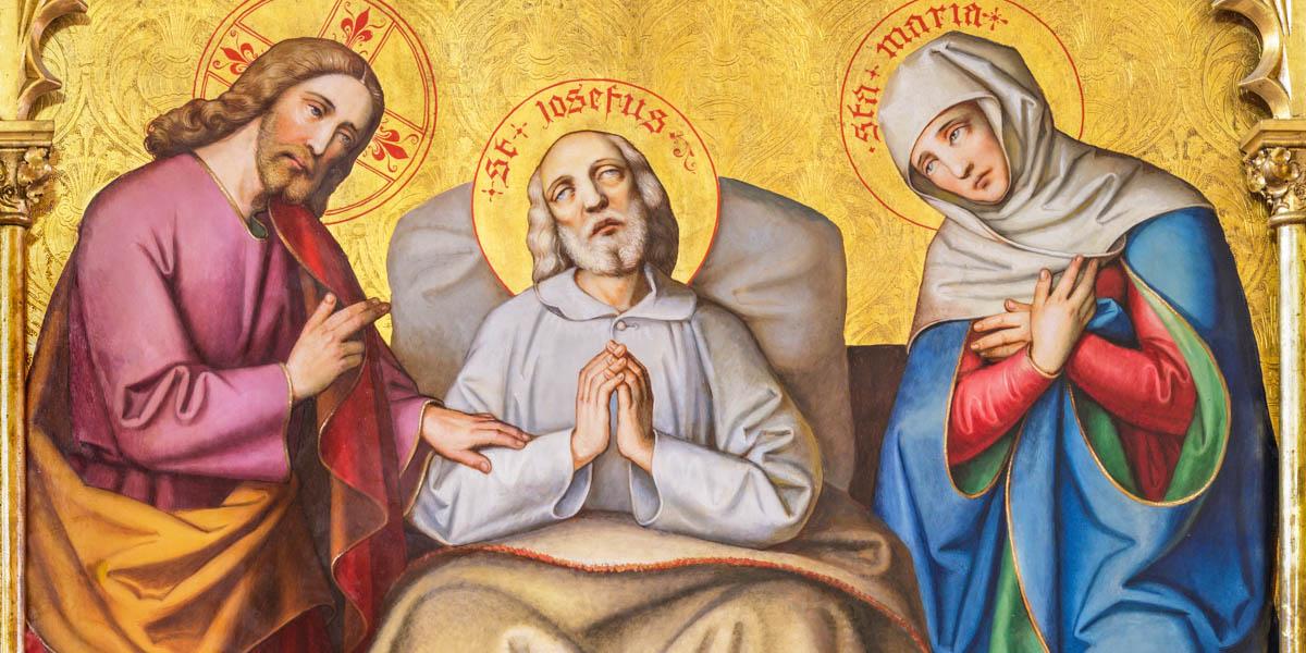 THE DEATH OF SAINT JOSEPH