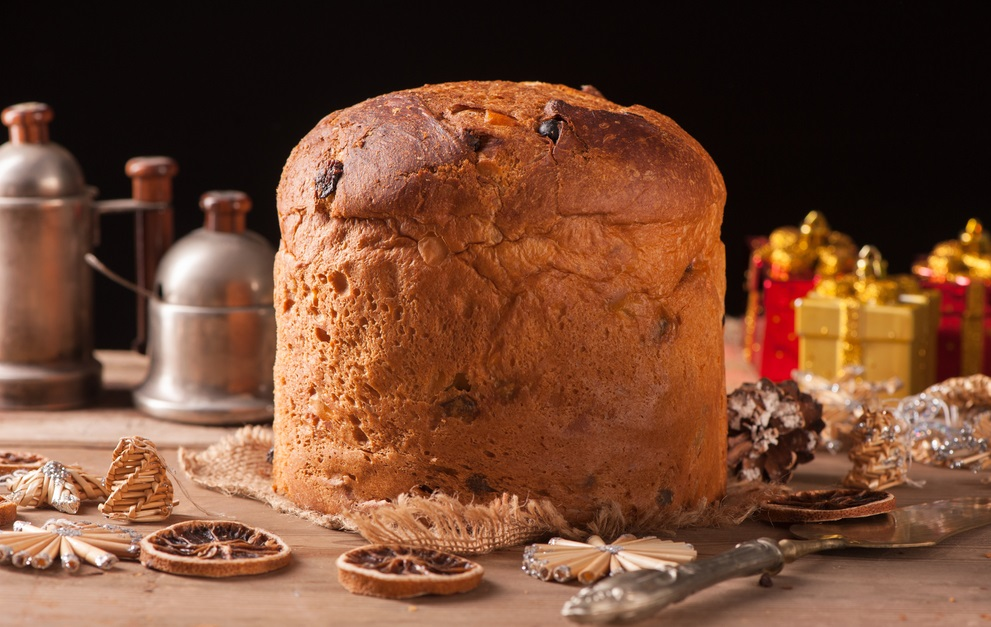 Panettone christmas bread