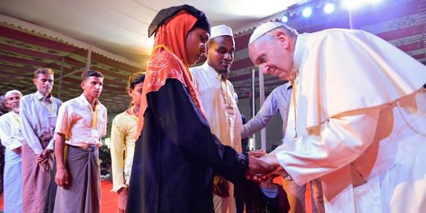 POPE FRANCIS,ROHINGYA