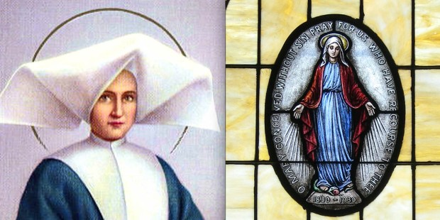 ST CATHERINE LABOURE,MIRACULOUS MEDAL