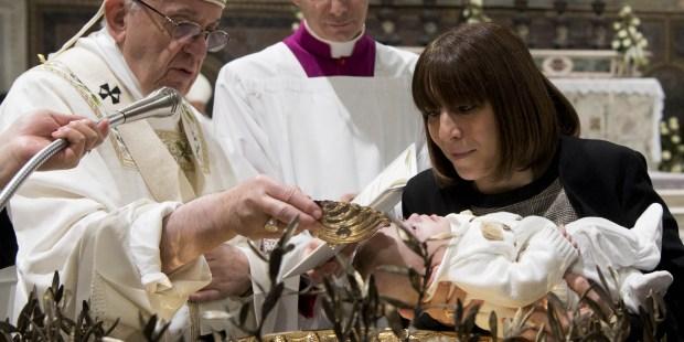 POPE BAPTISM