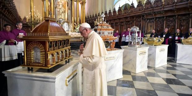 POPE FRANCIS Peru