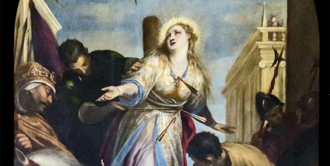 SAINT CHRISTINE OF BOLSENA