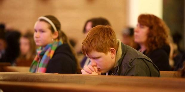 CATHOLIC TEEN,MASS