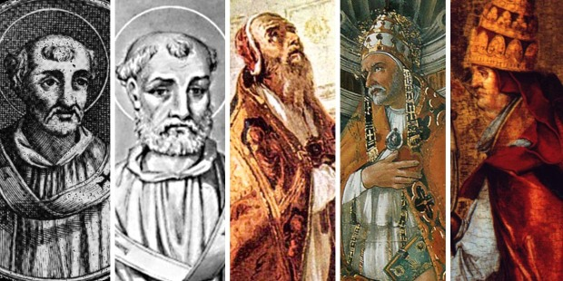 MARTYRS,POPES,COMP