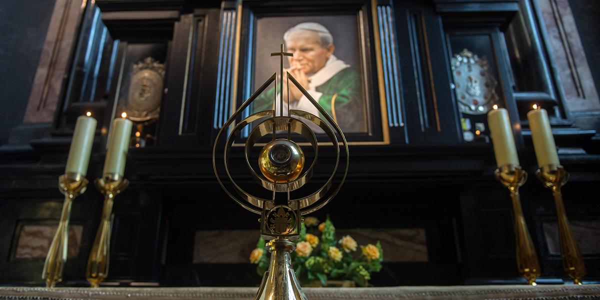 POPE JOHN PAUL II RELIC