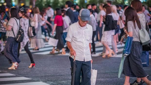 OLDER JAPANESE MAN
