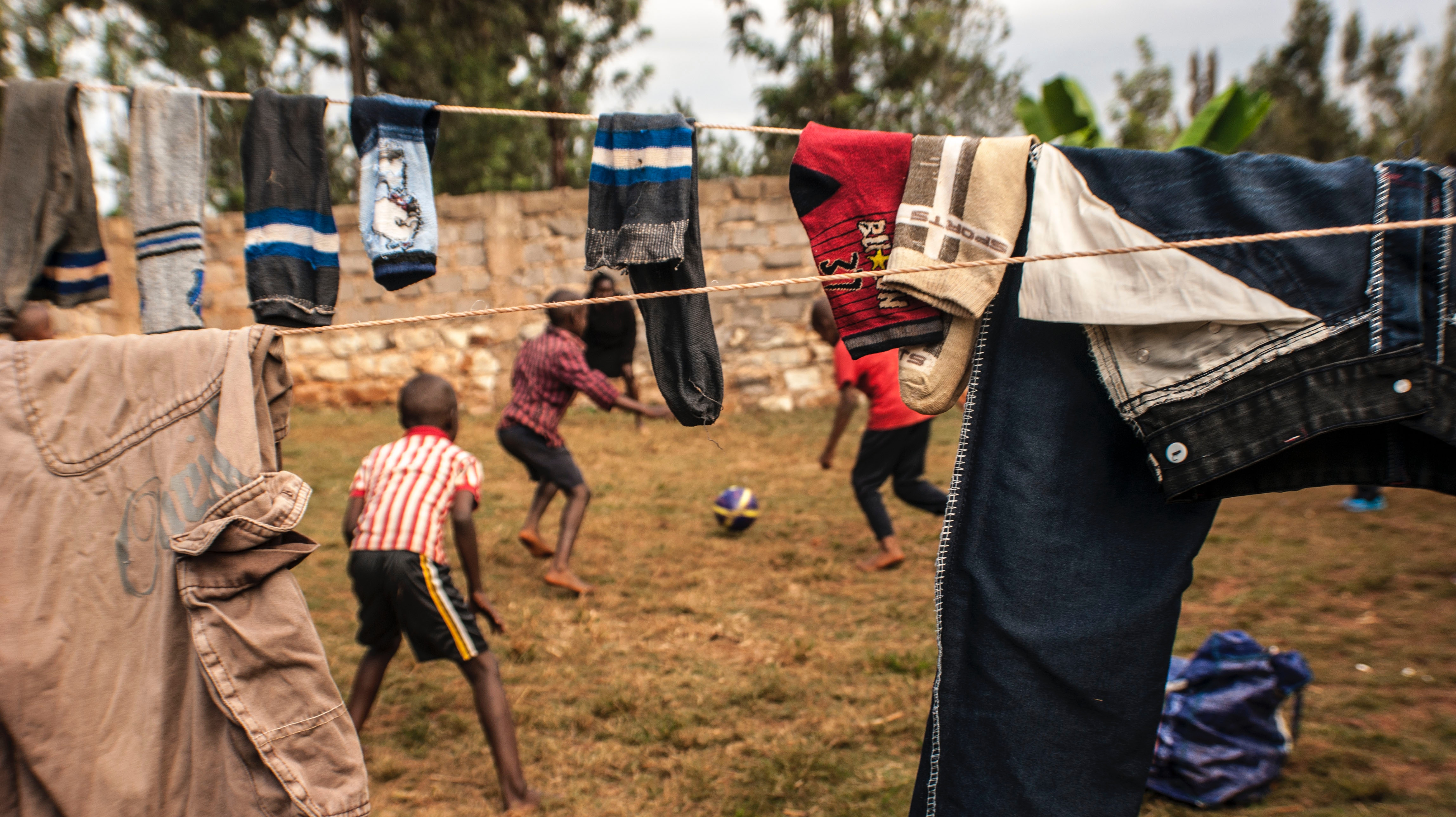 CHILDREN, AFRICA, FOOTBALL