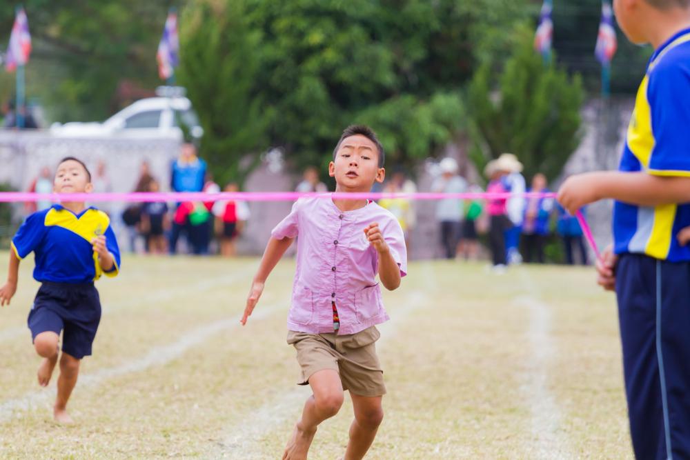 RUNNING, BOY, WIN